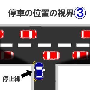 停車の位置の限界3