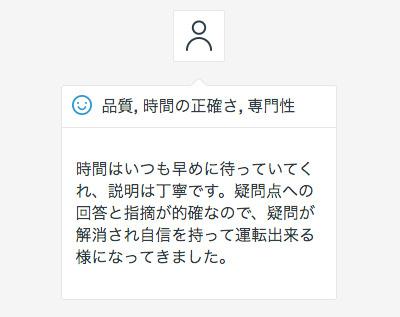台東区(30代女性)からのメッセージ